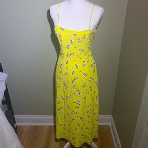 Beautiful yellow summer dress